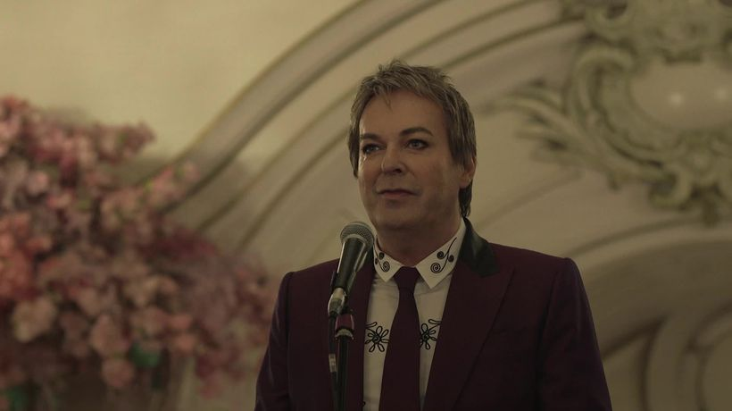 Julian Clary gets a spot on the Palladium Wall of Fame