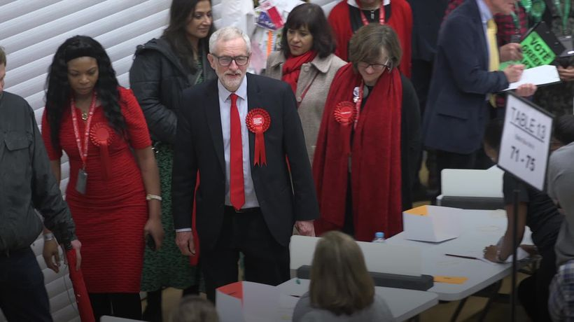Jeremy Corbyn says he will not lead the Labour Party into another election
