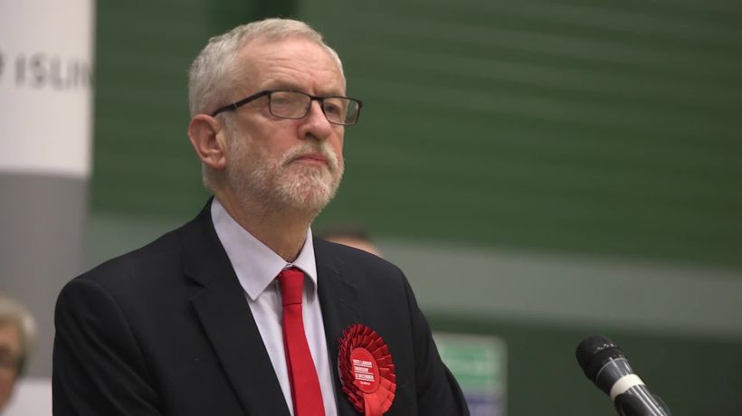 Jeremy Corbyns announces he will step down as Labour Leader