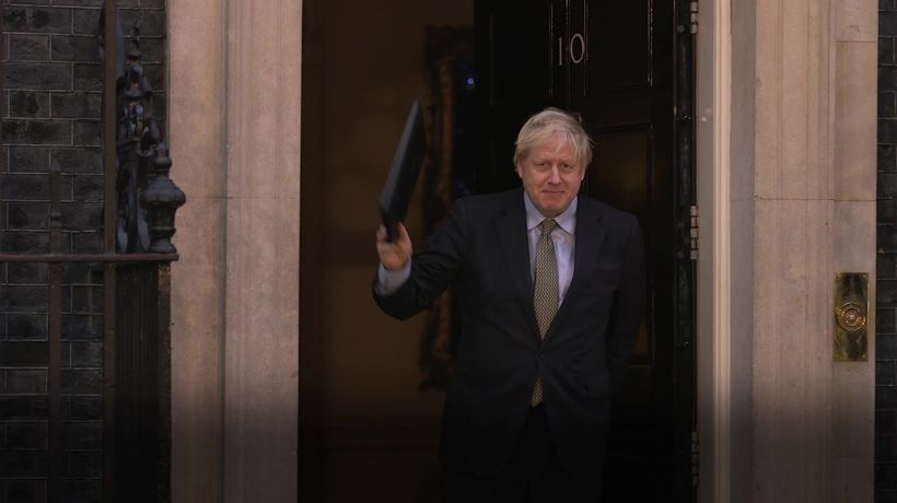 Boris Johnson addresses the nation after election win