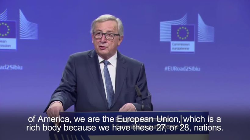 Juncker: EU superstate claims are total nonsense