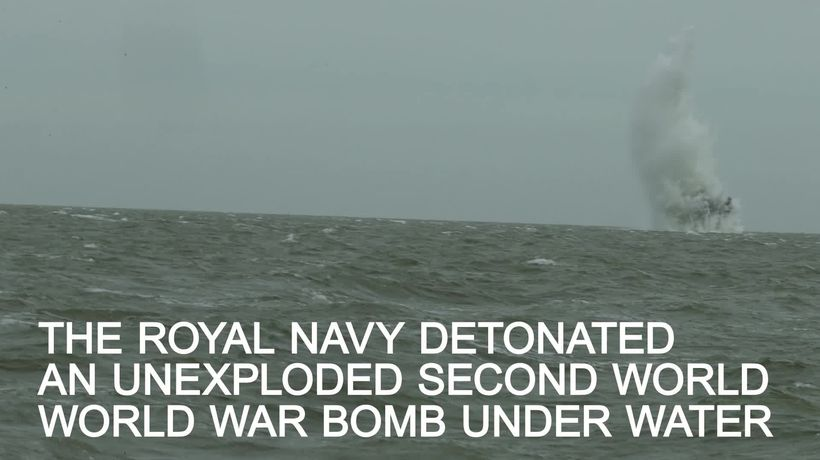Second World War bomb that caused chaos at London City airport detonated