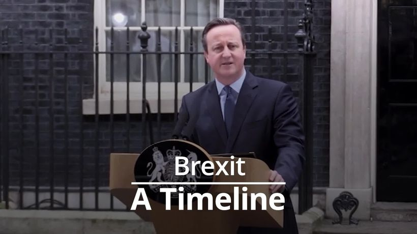 Brexit timeline: From 2013 referendum promise to a 2020 exit