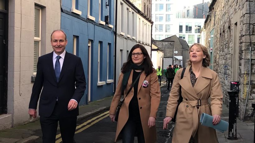 Micheal Martin: Fianna Fail won't enter 'grand coalition'