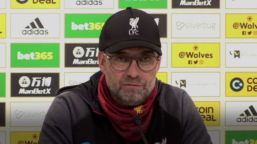Jurgen Klopp: We don't go for perfection, we go for a perfect reaction