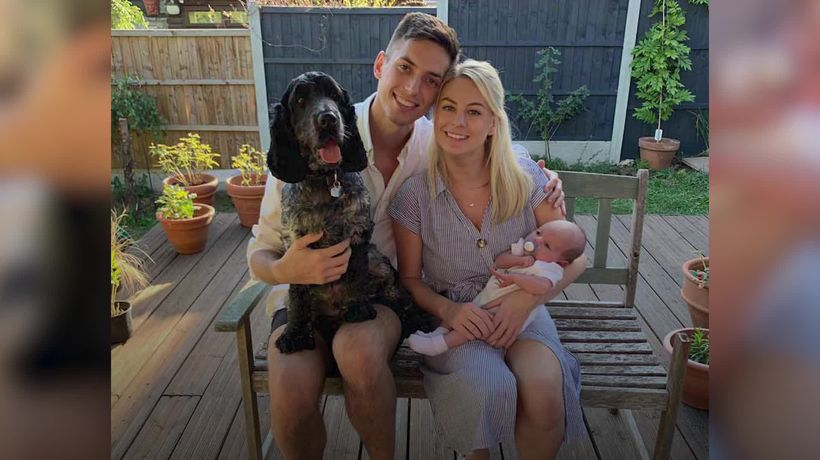 Dad with kidney failure to run marathon for charity that helped his newborn baby
