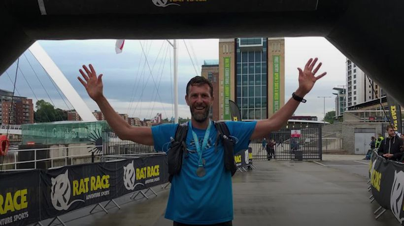 Dad-of-two runs 30 marathons in 30 days