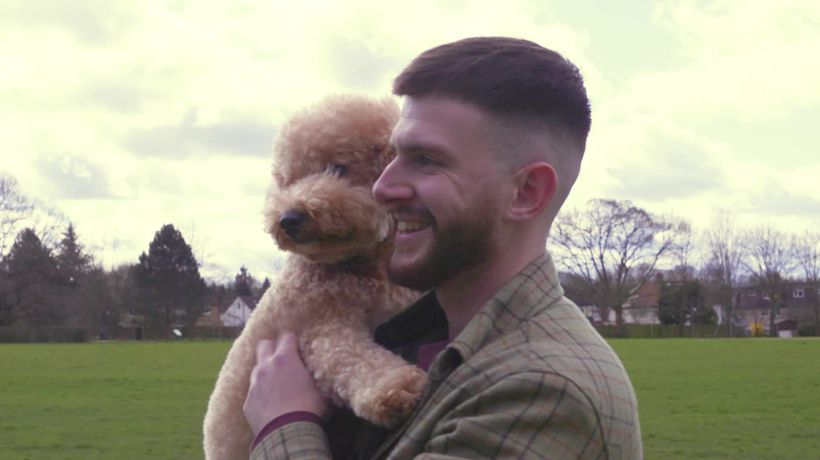 Man has dating surge after adding puppy to his dating profile