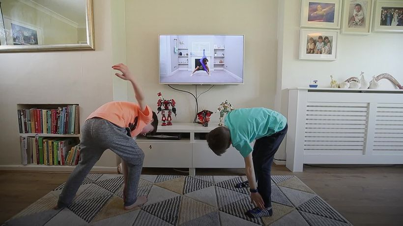 Wicks' first online PE session for children gets hundreds of thousands of views