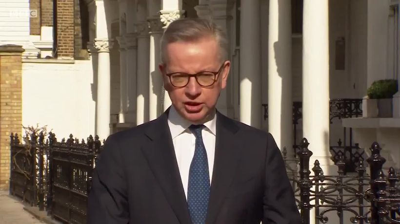 Michael Gove: 'There was confusion' over EU ventilator scheme