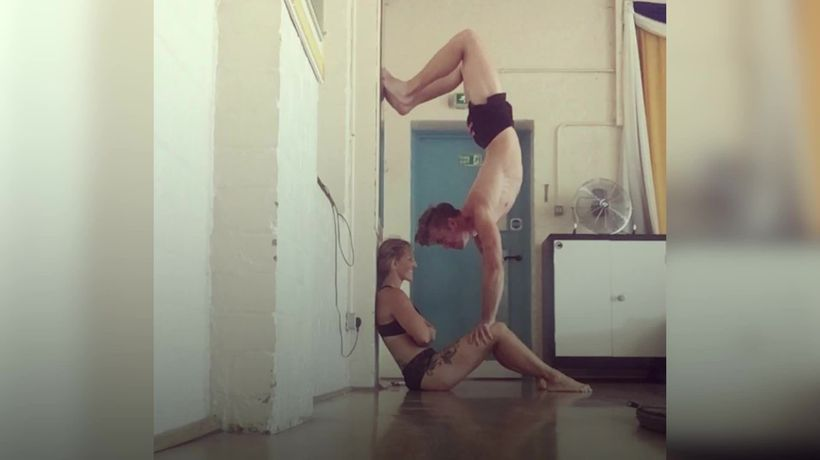 Meet the couple who fell in love at a pole-dancing class