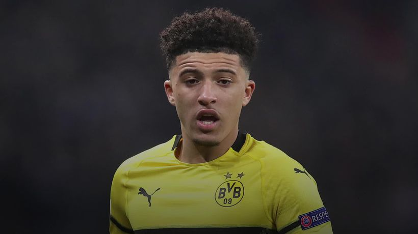 Dortmund head coach on Jadon Sancho's tribute to George Floyd