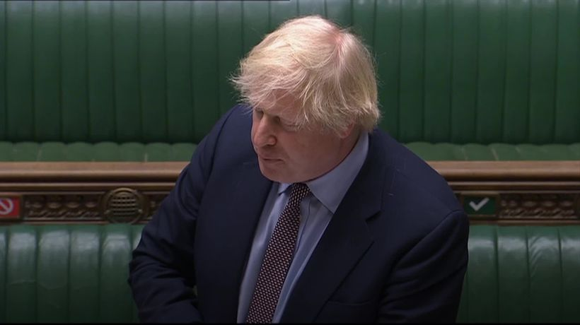 Boris Johnson snaps at Sir Keir Starmer in heated PMQs