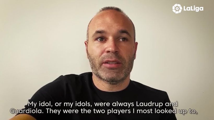 Andres Iniesta discusses his idols and dreams of becoming a manager