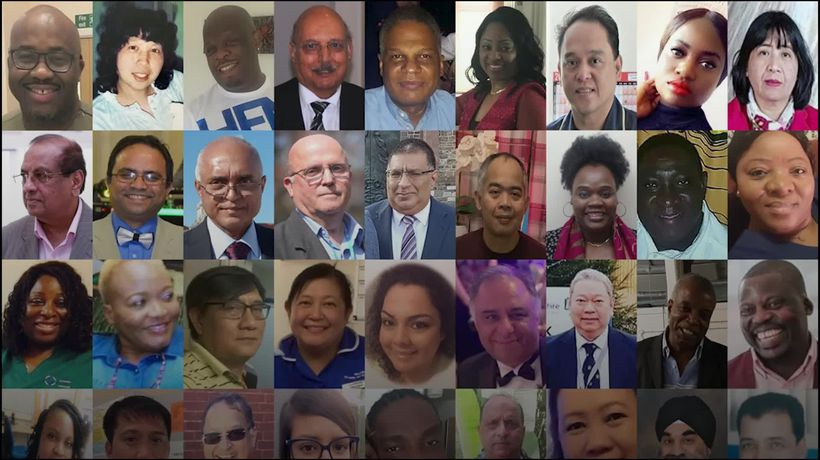 BAME staff account for 60% of Covid-19 health worker deaths