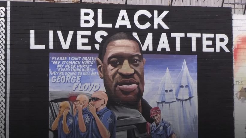 Belfast expresses solidarity with Black Lives Matter campaign with new mural