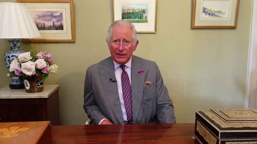 Prince Charles pays tribute to hospitality sector