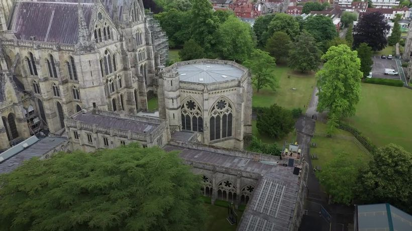Salisbury Cathedral installs solar panels in carbon-neutral drive
