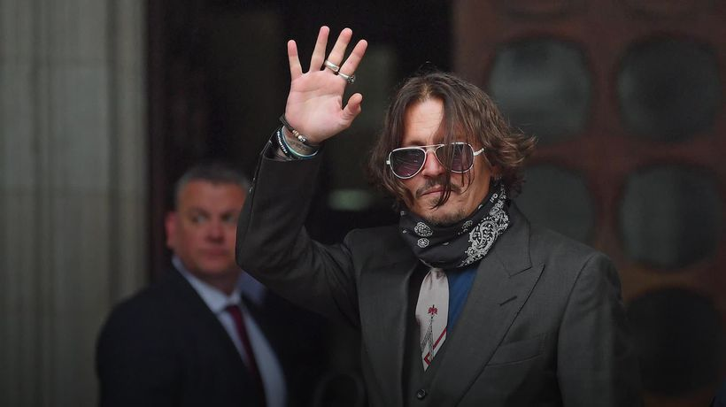 Audio released which appears to show Johnny Depp admitting to headbutting Amber Heard