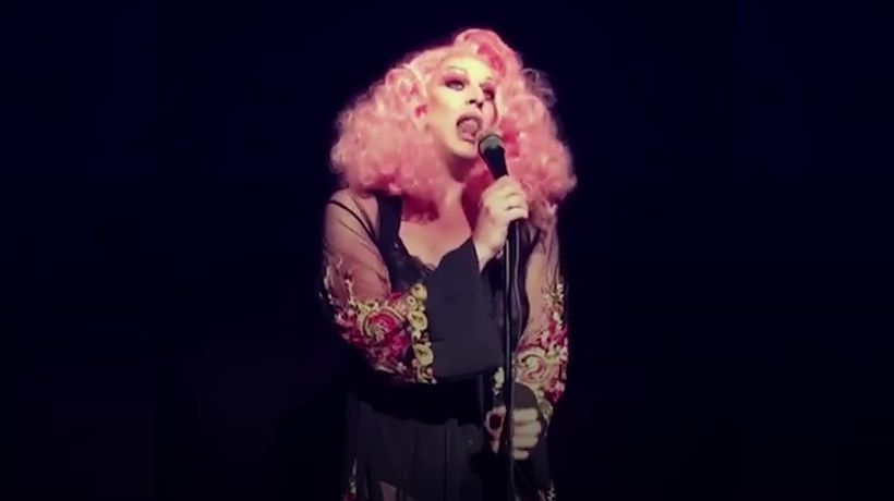 Drag queen embraces disability