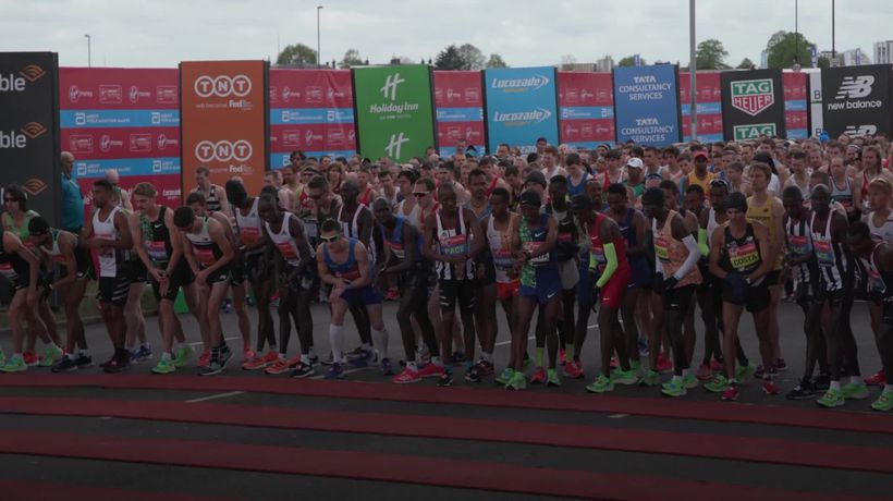 London Marathon switched to elite-athlete race on enclosed looped course