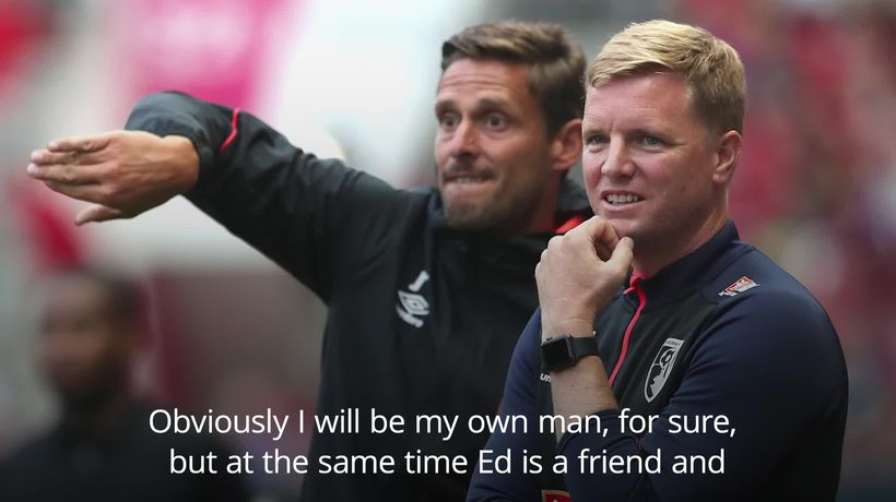 New Bournemouth boss 'surprised' by Eddie Howe's departure
