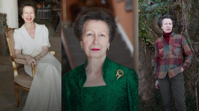 Anne's 70th birthday marked with three official photographs