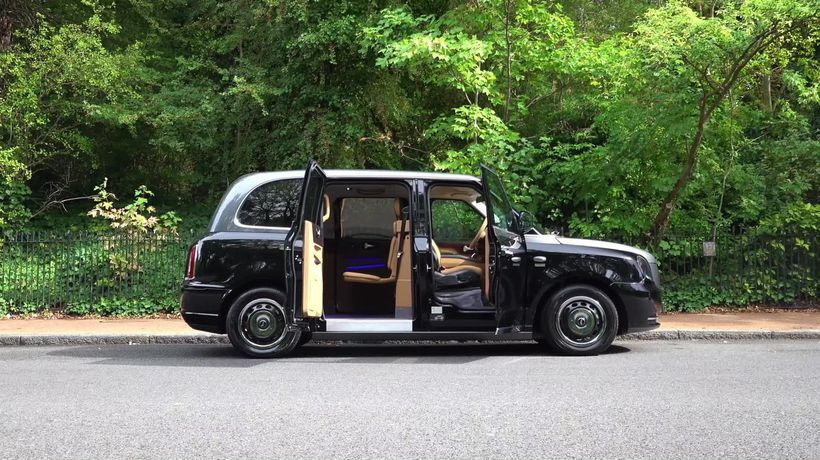 This is the Sutton VIP LEVC Taxi