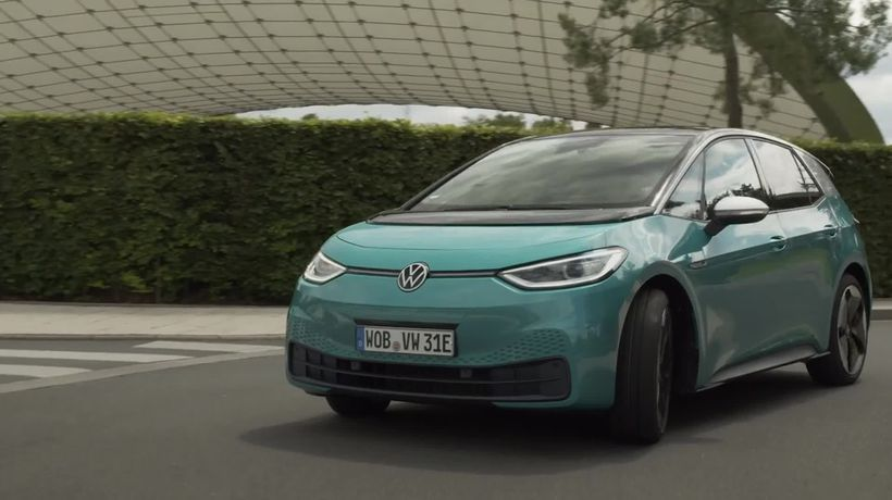 This is the Volkswagen ID.3