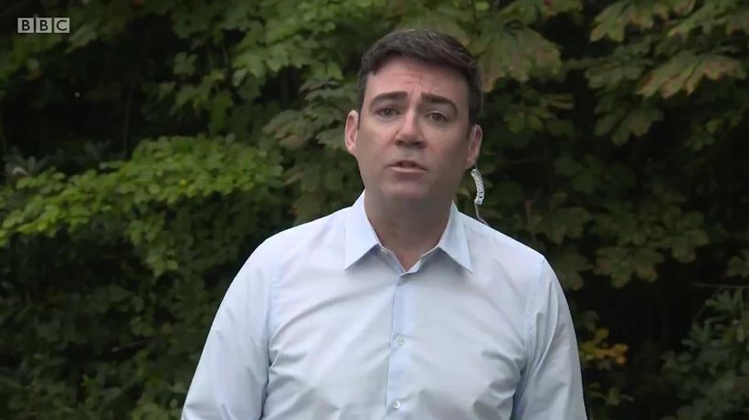 Andy Burnham doesn't rule out legal action against Government