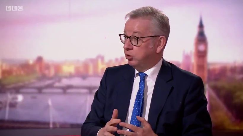 Michael Gove leaves door 'ajar' for post-Brexit trade talks with EU
