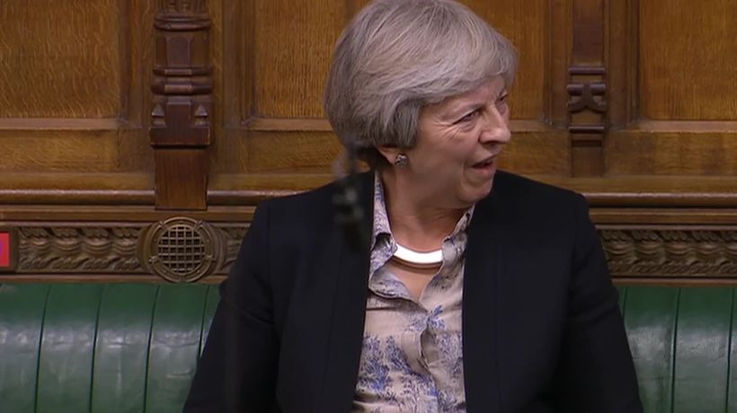 Former prime minister Theresa May sounds no-deal Brexit security warning