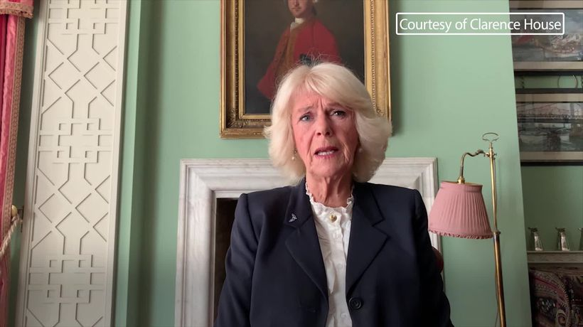 Duchess of Cornwall records message to mark World Osteoporosis Day 2020