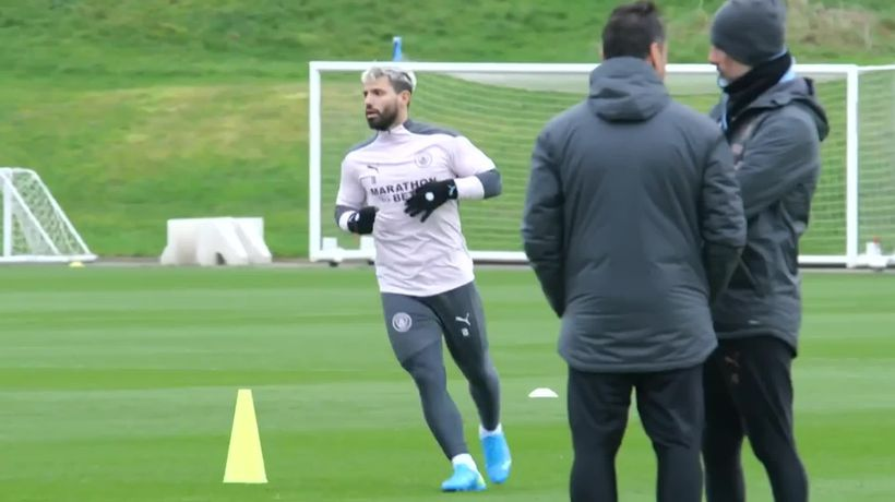 Guardiola will not rush Sergio Aguero back