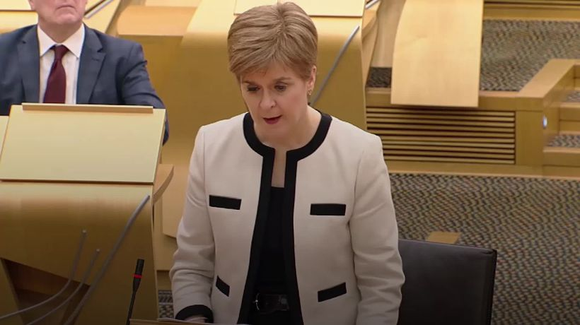 Scottish First Minister urges caution over Christmas