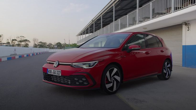 This is the 2021 Volkswagen Golf GTI