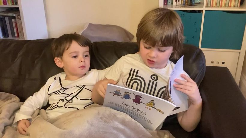 Son inspires parents to produce children's book