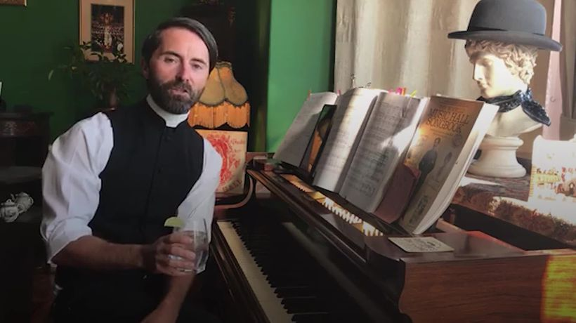 Bartender turned vicar has raised spirits with online 'Pimms and Hymns' lockdown singalongs