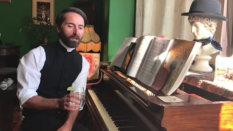 Bartender turned vicar has raised spirits with online 'Pimms and Hymns' lockdown singalongs - clean