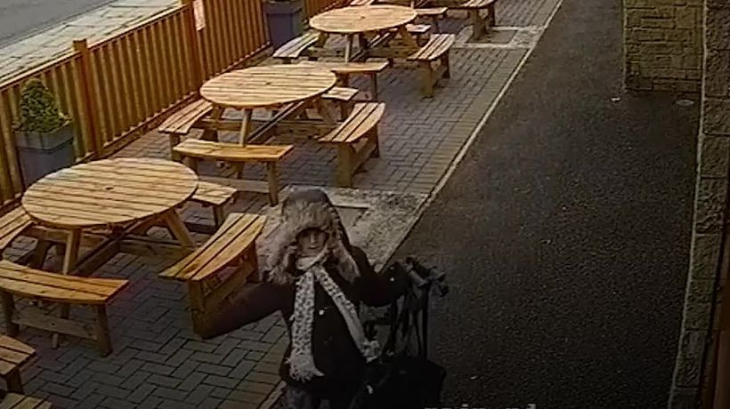Police release mugging CCTV after pensioner's attacker is jailed