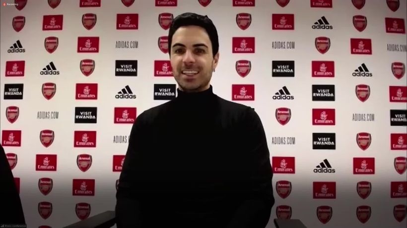 Arteta pleased with Aubameyang as Arsenal move to top half of table