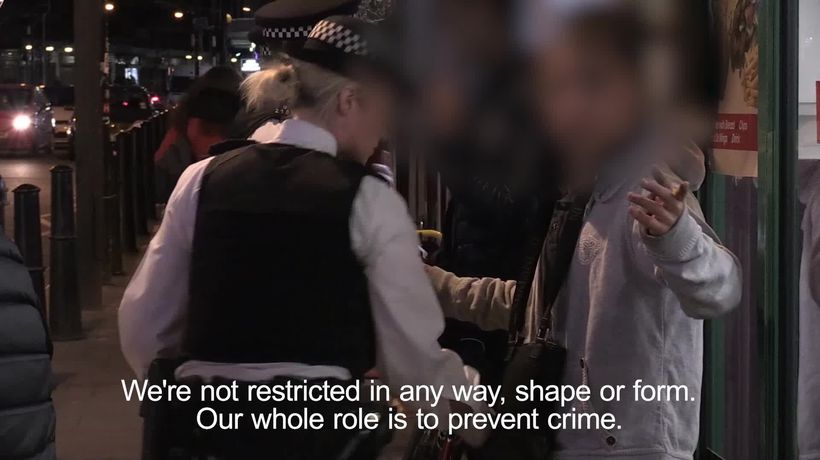 Knife crime: Follow the Met's frontline officers