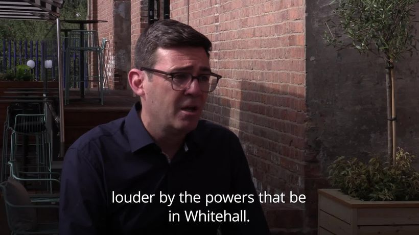 Andy Burnham launches campaign to retain mayoral role