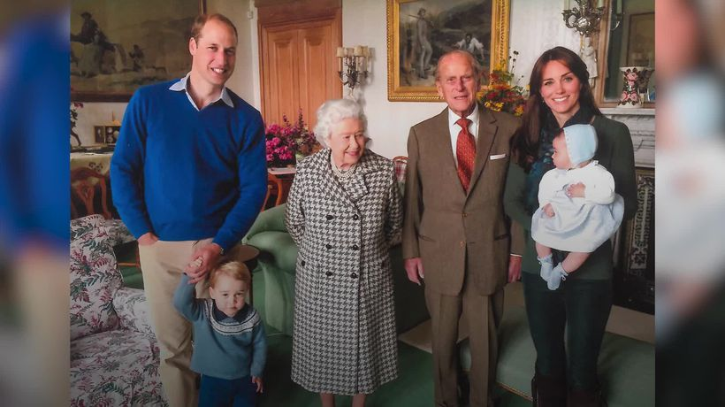 Touching photos of Philip, the Queen and their family