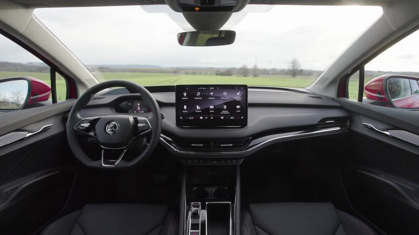This is the all-electric Skoda Enyaq