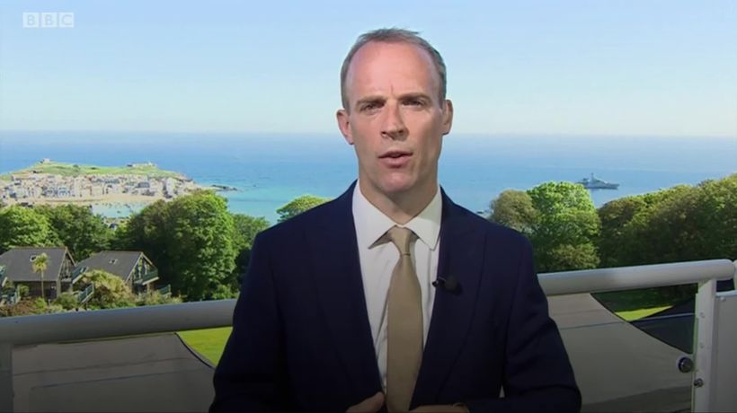 EU needs to show 'a bit of respect' to UK, Raab says as Brexit row deepens
