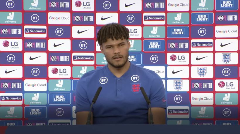 Taking the knee: England's Tyrone Mings focuses on 'hugely positive reaction'