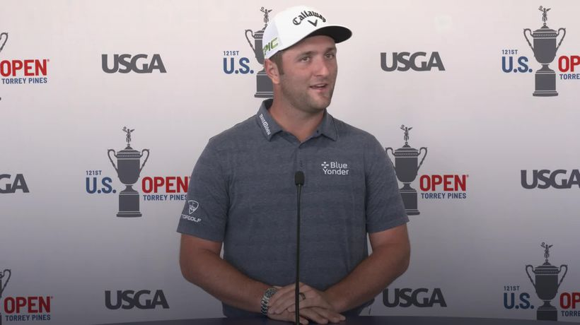Positive Covid-19 test meant Jon Rahm missed seeing his parents meet his son
