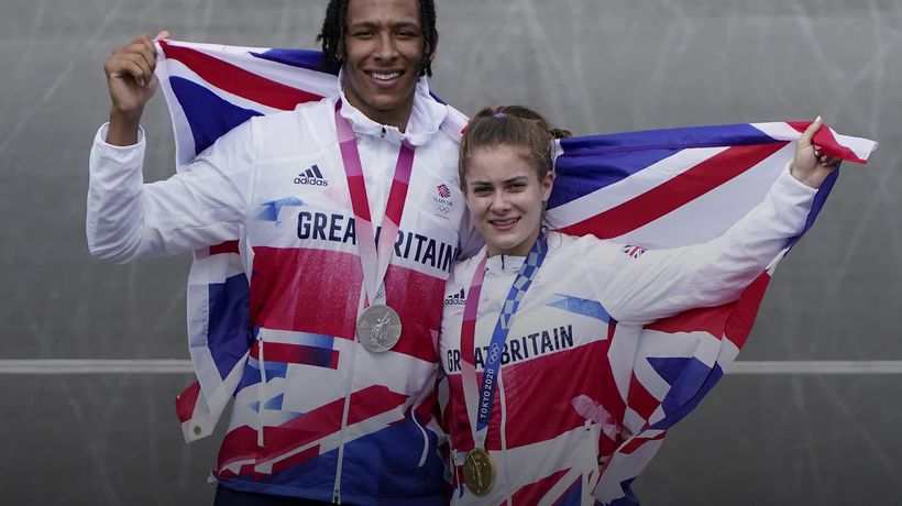 Bethany Shriever and Kye Whyte win historic medals on BMX track