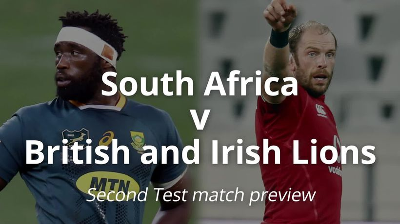 South Africa v British and Irish Lions: Second test match preview